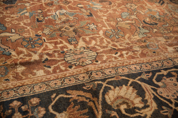 Antique Mahal Carpet / Item sm001322 image 7