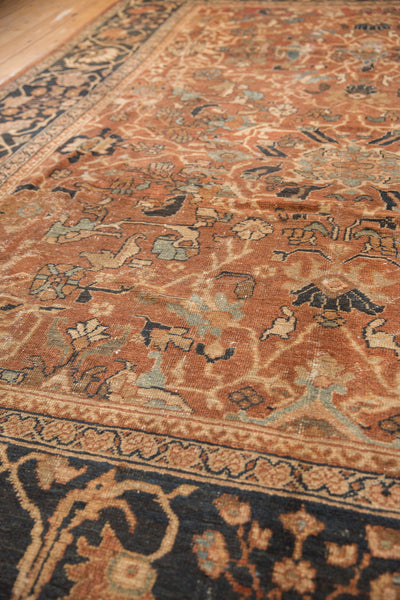 Antique Mahal Carpet / Item sm001322 image 10