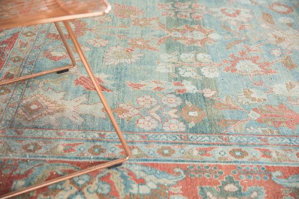 Vintage Distressed Mahal Carpet / Item sm001323 image 5