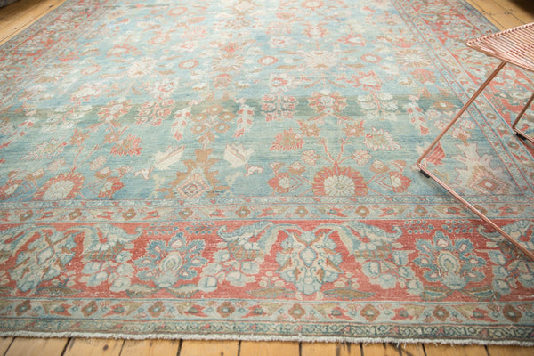 Vintage Distressed Mahal Carpet / Item sm001323 image 6