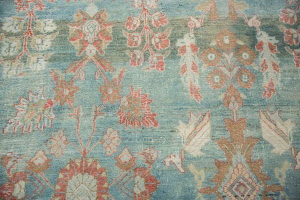 Vintage Distressed Mahal Carpet / Item sm001323 image 8