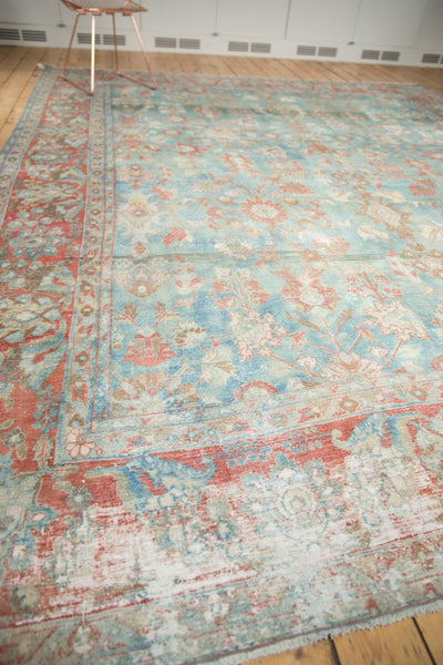 Vintage Distressed Mahal Carpet / Item sm001323 image 11