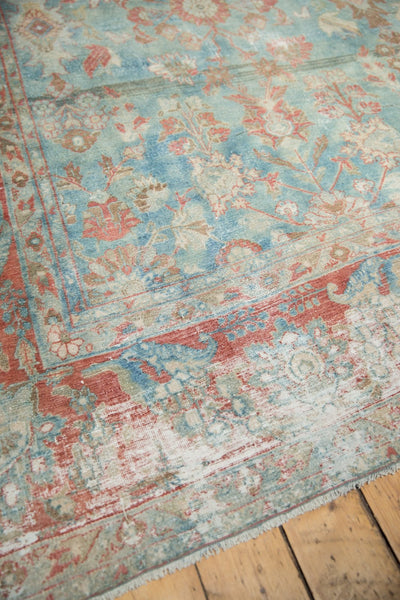 Vintage Distressed Mahal Carpet / Item sm001323 image 13