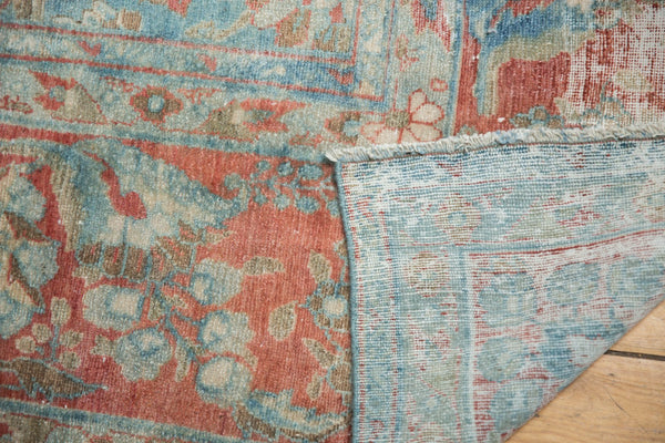 Vintage Distressed Mahal Carpet / Item sm001323 image 14