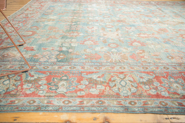 Vintage Distressed Mahal Carpet / Item sm001323 image 15