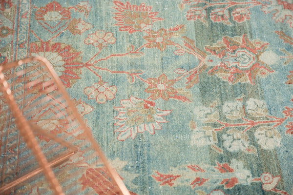 Vintage Distressed Mahal Carpet / Item sm001323 image 16