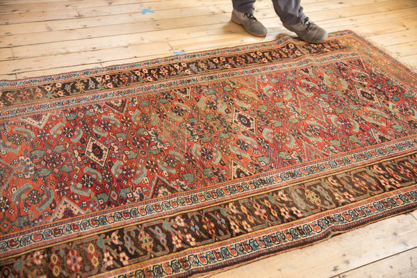 Antique Kurdish Bijar Rug / Item sm001331 image 3