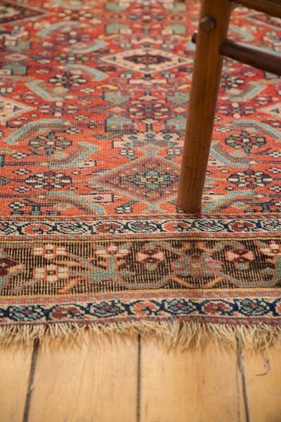 Antique Kurdish Bijar Rug / Item sm001331 image 6
