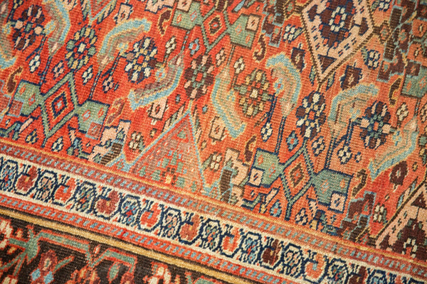 Antique Kurdish Bijar Rug / Item sm001331 image 8
