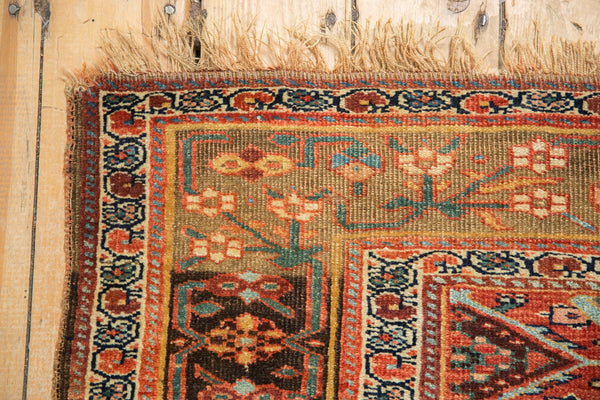 Antique Kurdish Bijar Rug / Item sm001331 image 9
