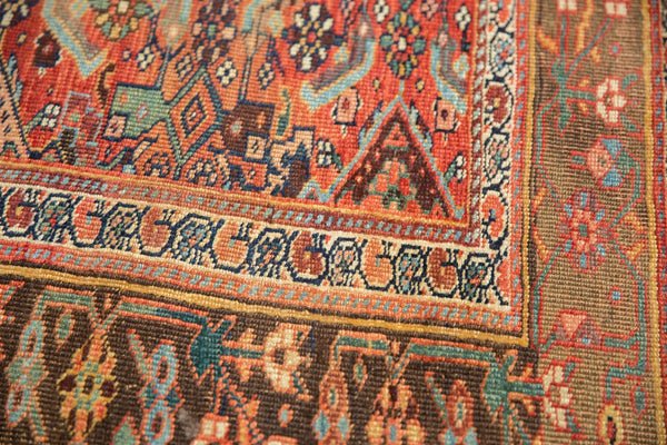 Antique Kurdish Bijar Rug / Item sm001331 image 12