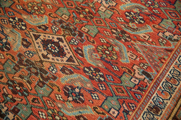 Antique Kurdish Bijar Rug / Item sm001331 image 15