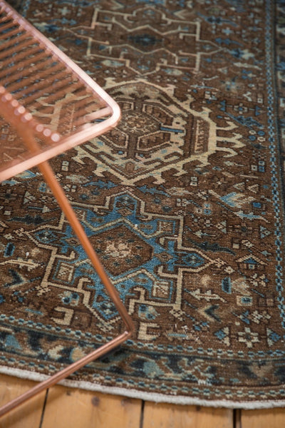 Vintage Distressed Karaja Rug Runner / Item sm001332 image 4