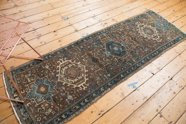 Vintage Distressed Karaja Rug Runner / Item sm001332 image 5