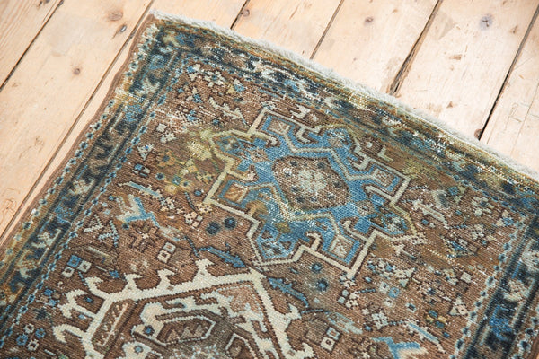 Vintage Distressed Karaja Rug Runner / Item sm001332 image 7