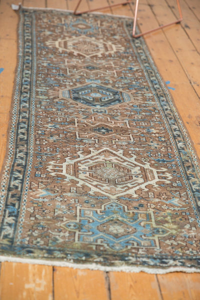 Vintage Distressed Karaja Rug Runner / Item sm001332 image 10