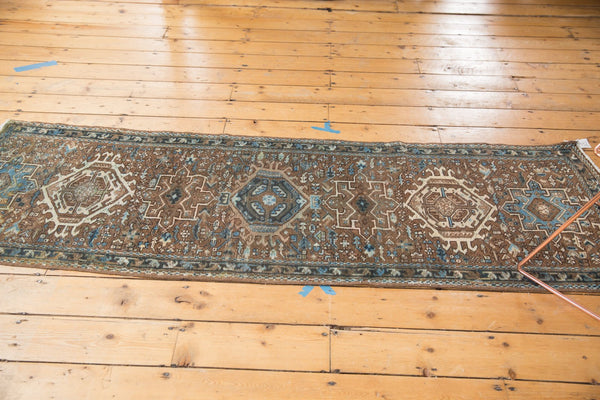 Vintage Distressed Karaja Rug Runner / Item sm001332 image 12