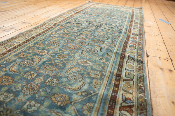 Vintage Distressed Hamadan Rug Runner / Item sm001347 image 3