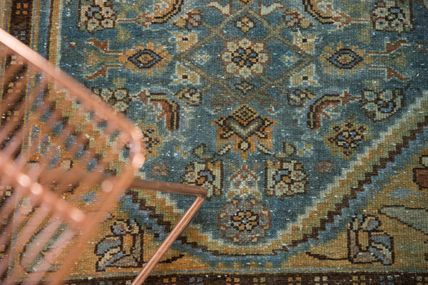 Vintage Distressed Hamadan Rug Runner / Item sm001347 image 7