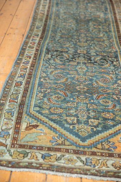 Vintage Distressed Hamadan Rug Runner / Item sm001347 image 9