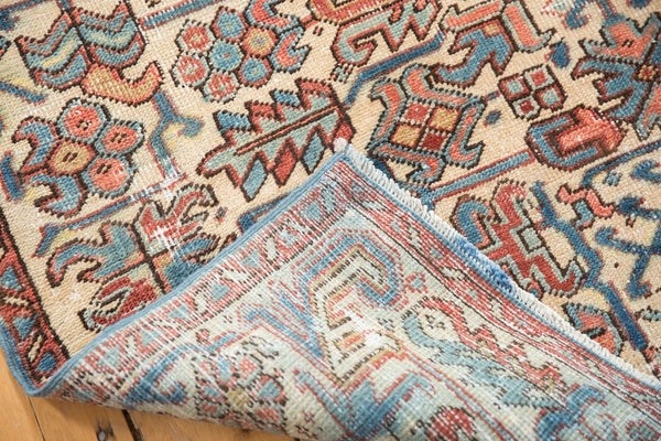 Vintage Distressed Heriz Fragment Carpet / Item sm001348 image 14