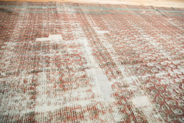 Antique Distressed Malayer Rug Runner
