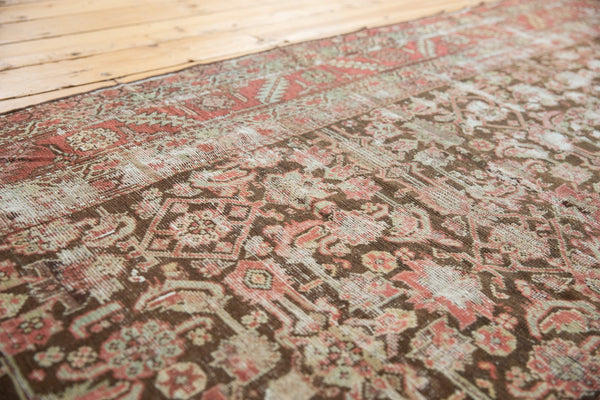 Antique Distressed Karabagh Rug Runner / Item sm001360 image 4