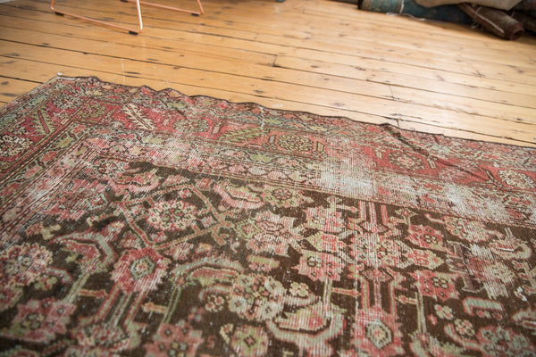 Antique Distressed Karabagh Rug Runner / Item sm001360 image 5