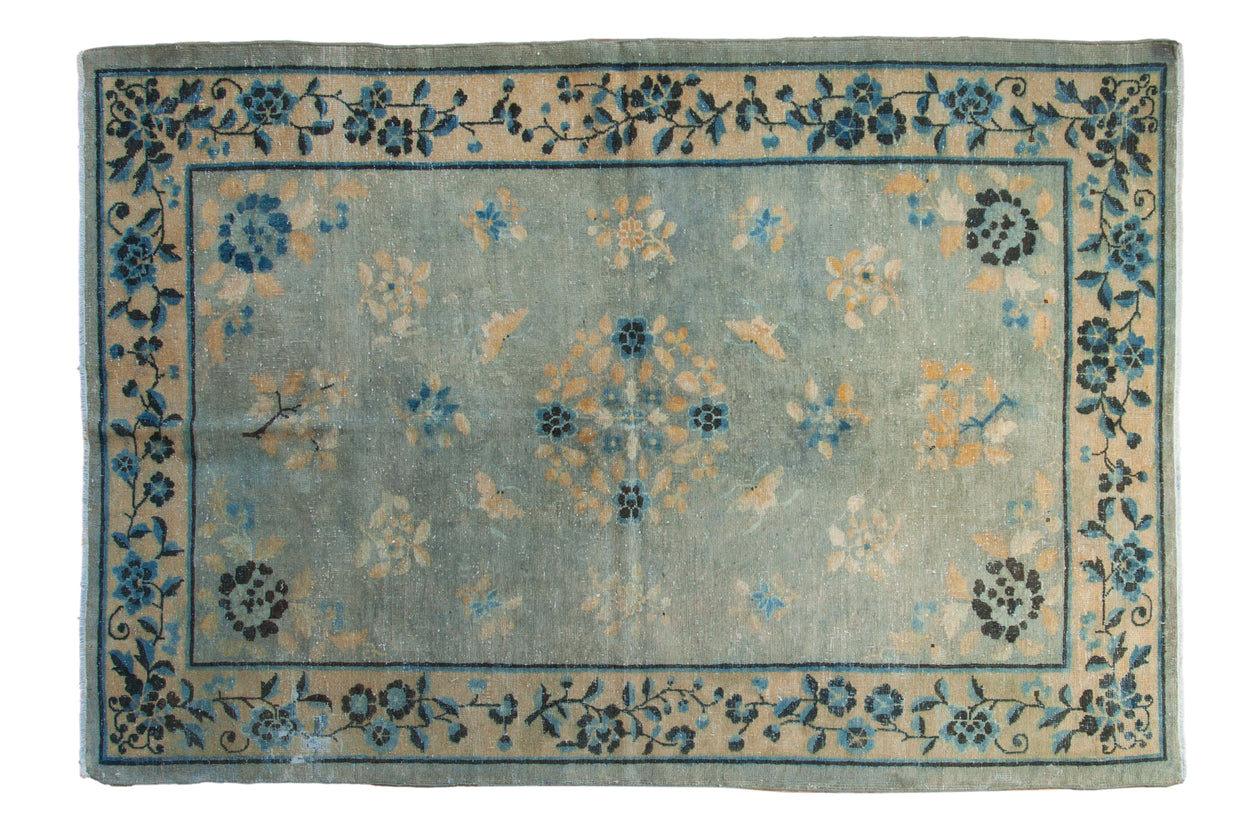5x7.5 Antique Distressed Peking Rug // ONH Item sm001362