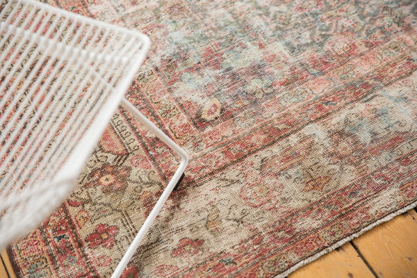 Vintage Distressed Mahal Rug Runner / Item sm001363 image 4