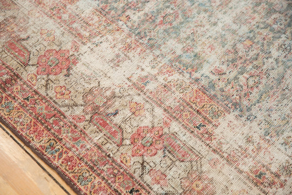 Vintage Distressed Mahal Rug Runner / Item sm001363 image 7