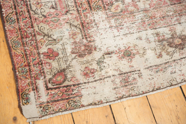 Vintage Distressed Mahal Rug Runner / Item sm001363 image 9