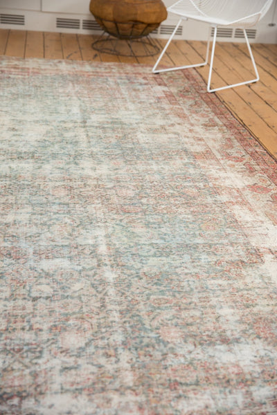 Vintage Distressed Mahal Rug Runner / Item sm001363 image 11