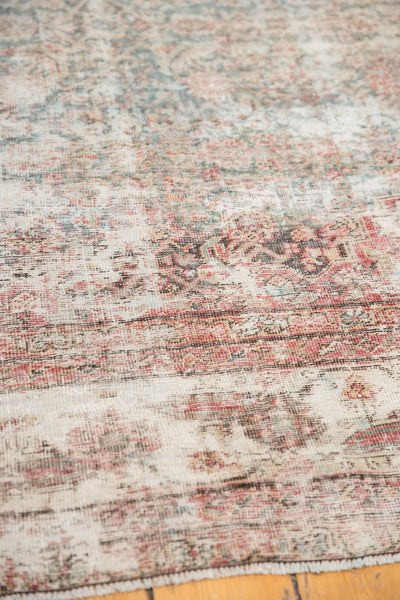 Vintage Distressed Mahal Rug Runner / Item sm001363 image 12