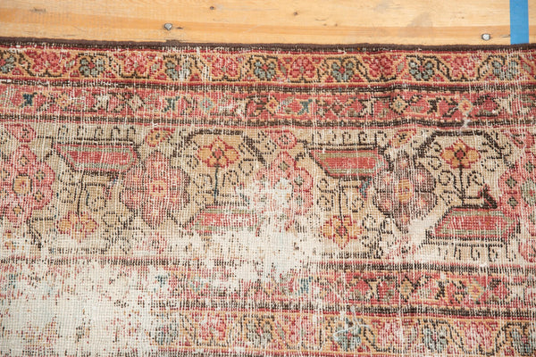 Vintage Distressed Mahal Rug Runner / Item sm001363 image 13
