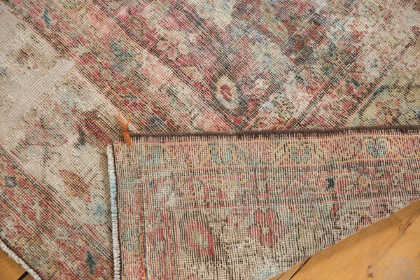 Vintage Distressed Mahal Rug Runner / Item sm001363 image 14