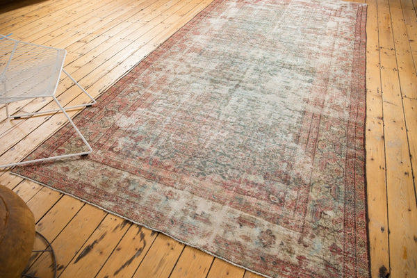 Vintage Distressed Mahal Rug Runner / Item sm001363 image 15