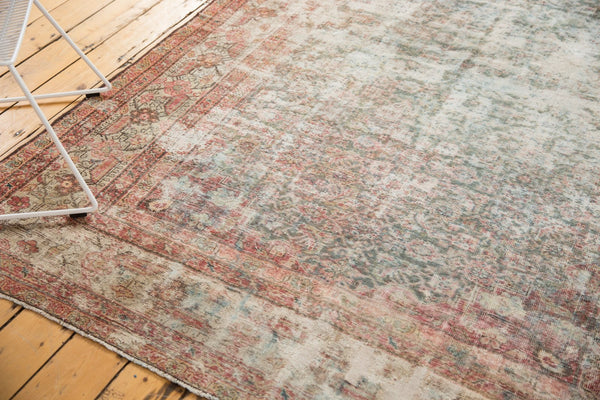Vintage Distressed Mahal Rug Runner / Item sm001363 image 16