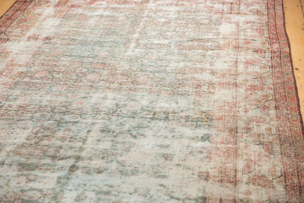 Vintage Distressed Mahal Rug Runner / Item sm001363 image 17