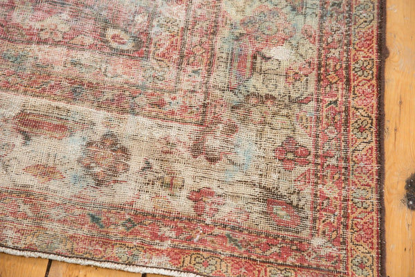 Vintage Distressed Mahal Rug Runner / Item sm001363 image 18