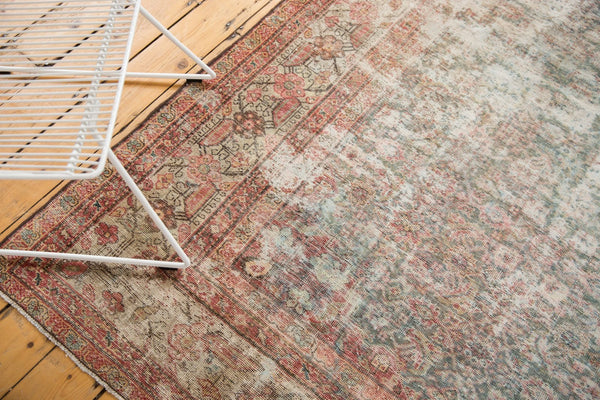 Vintage Distressed Mahal Rug Runner / Item sm001363 image 19