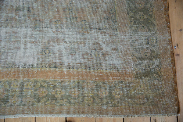Vintage Distressed Agra Carpet