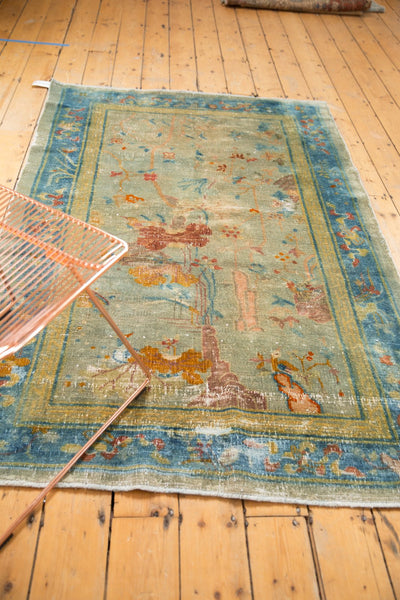 Antique Distressed Peking Rug / Item sm001370 image 4