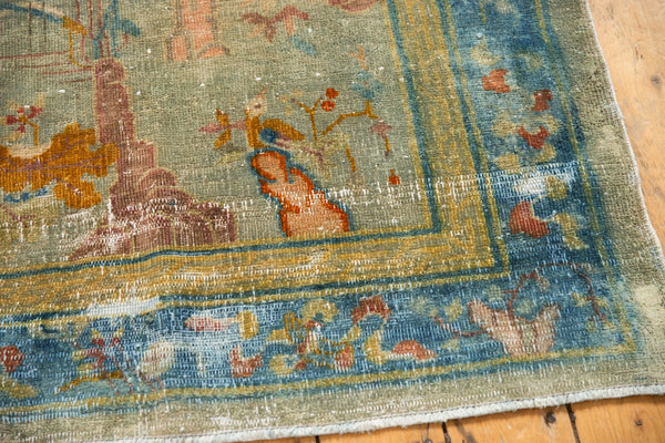Antique Distressed Peking Rug / Item sm001370 image 6