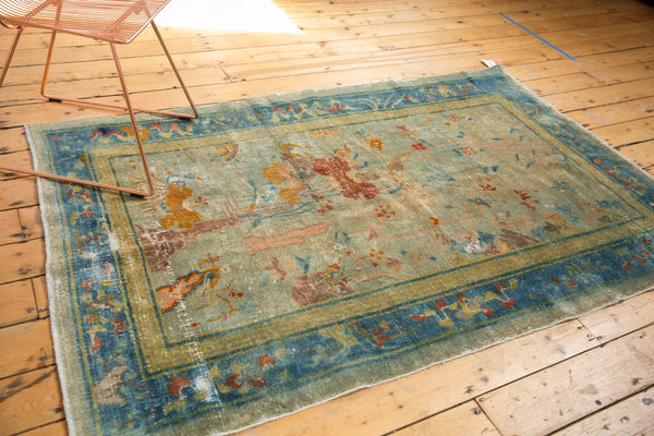 Antique Distressed Peking Rug / Item sm001370 image 7