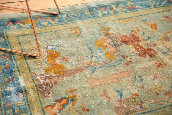 Antique Distressed Peking Rug / Item sm001370 image 8