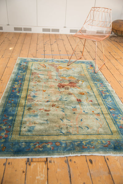 Antique Distressed Peking Rug / Item sm001370 image 11