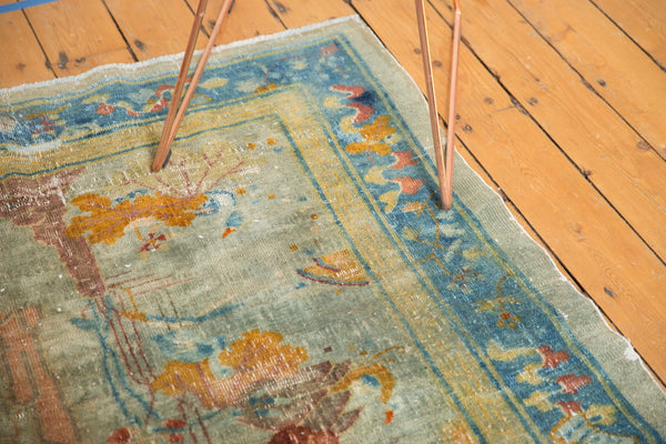 Antique Distressed Peking Rug / Item sm001370 image 13