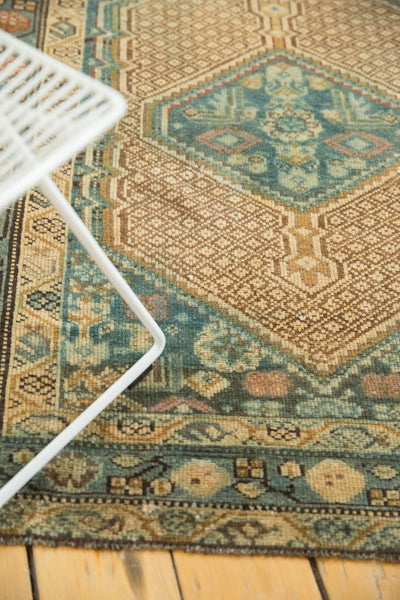 Vintage Distressed Serab Rug Runner / Item sm001376 image 4