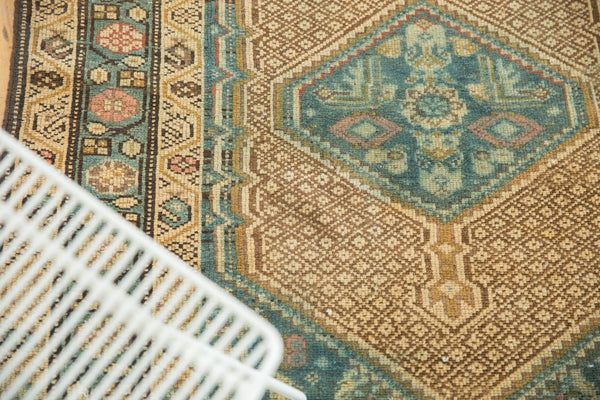 Vintage Distressed Serab Rug Runner / Item sm001376 image 5